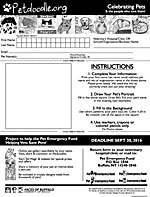 PEF Entry Form