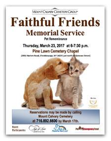 Faithful Friend Poster